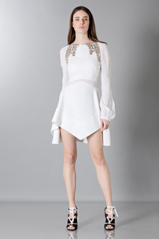Mini abito con strass