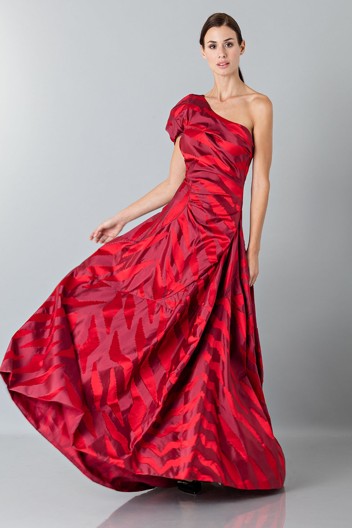 Buy a vivienne westwood dress one shoulder red dress for Vivienne westwood wedding dress price