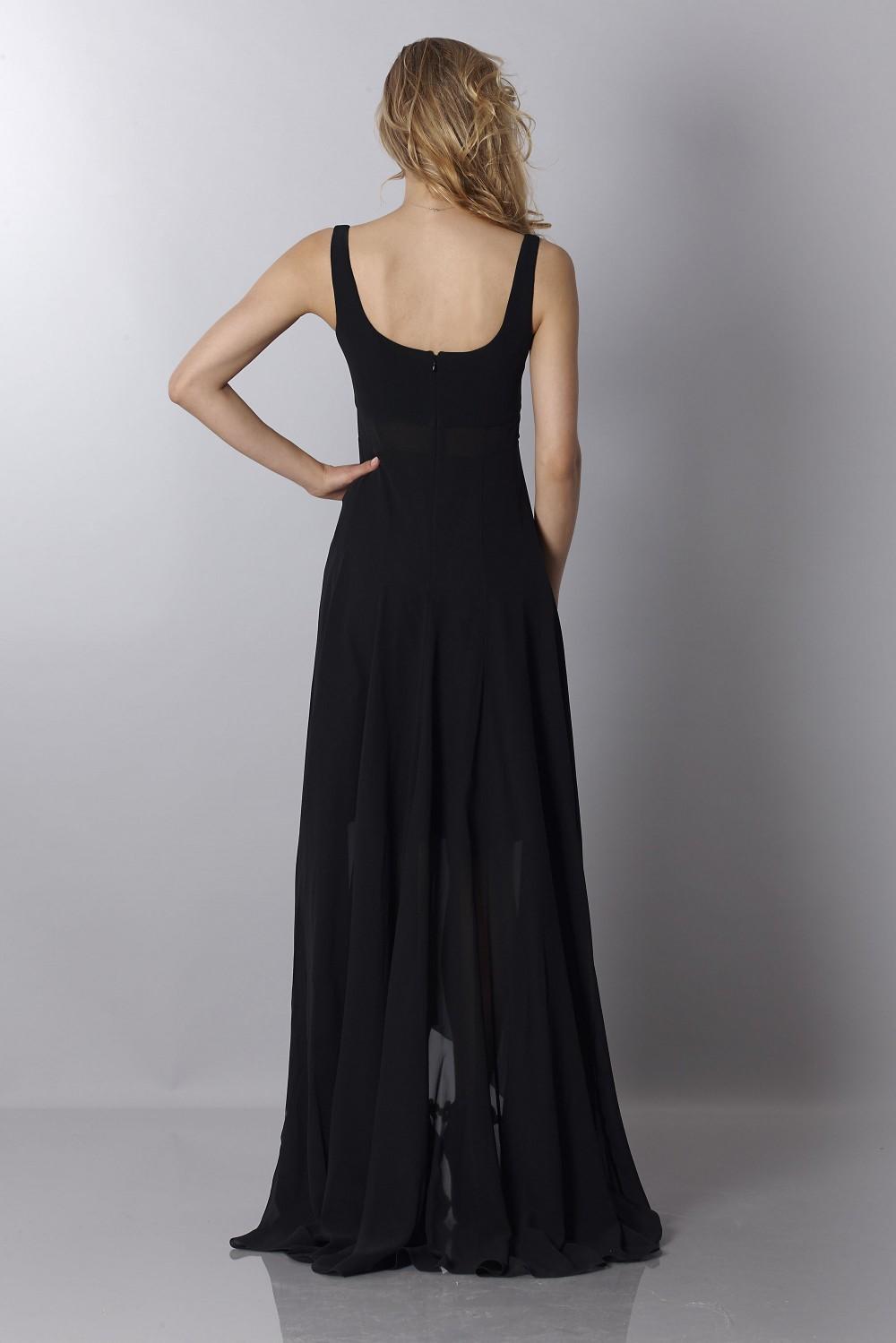 2561c40821c Drexcode - Nina Ricci Robe longue noire