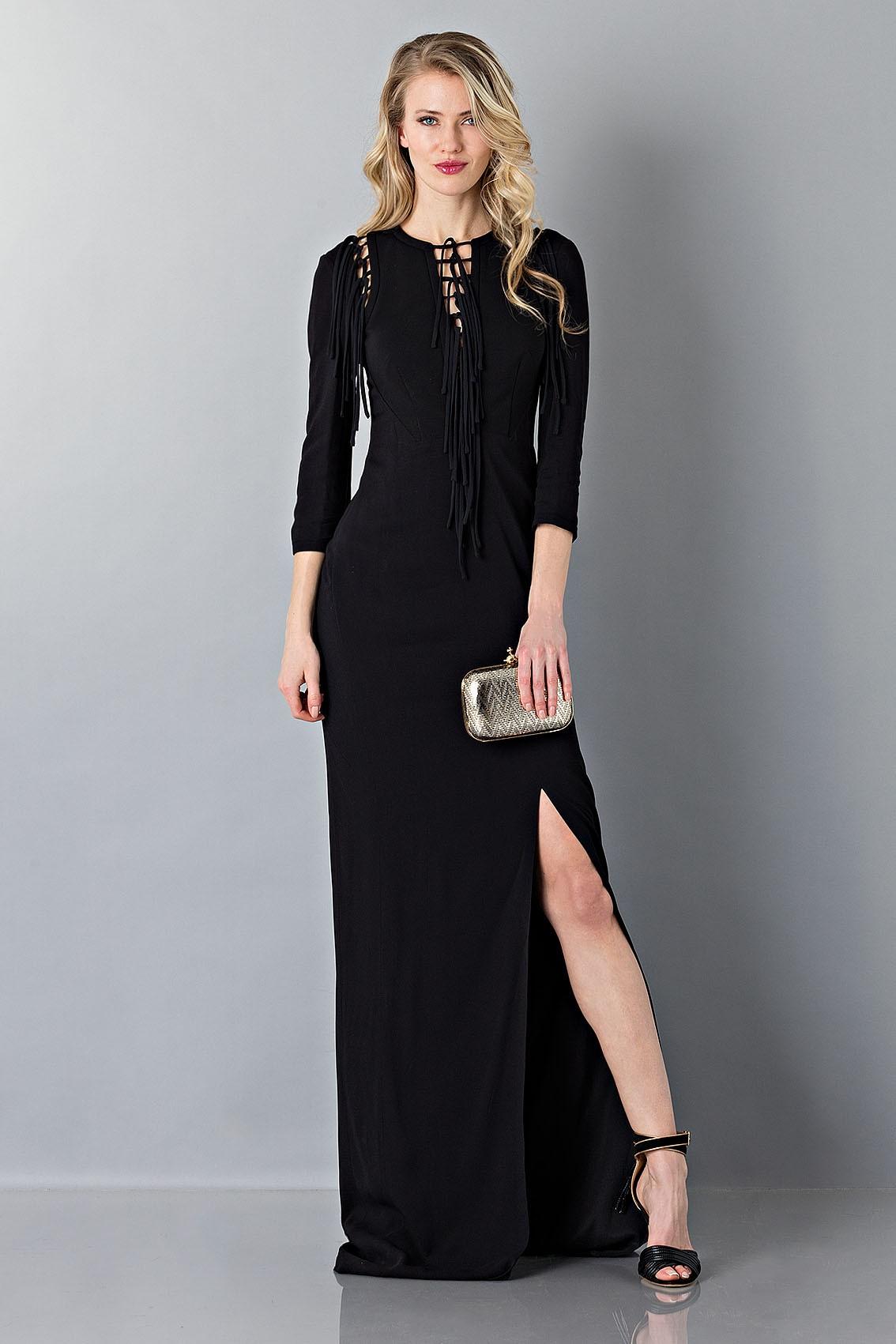 4b011bfad1d Drexcode - Antonio Berardi Robe noire Location vêtements de luxe